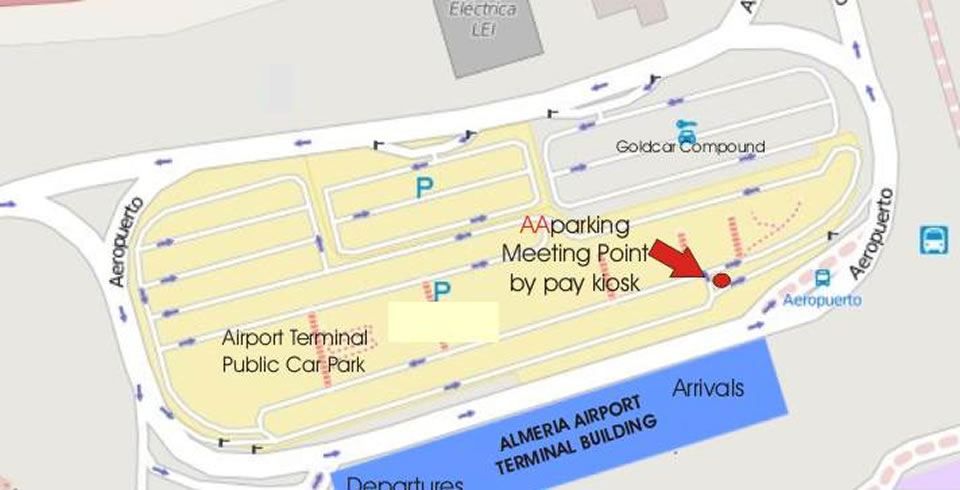 almeria airport arrivals
