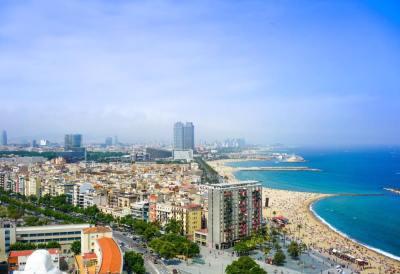 Barcelona Beach from Barceloneta
